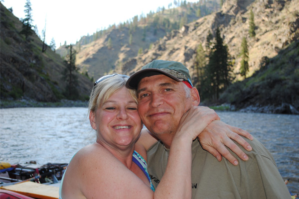 Rafting Guides - Andy and Marie Croninger